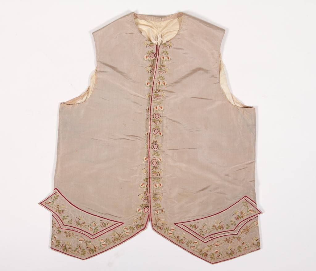 (18th c.) Embroidered Waist Coat