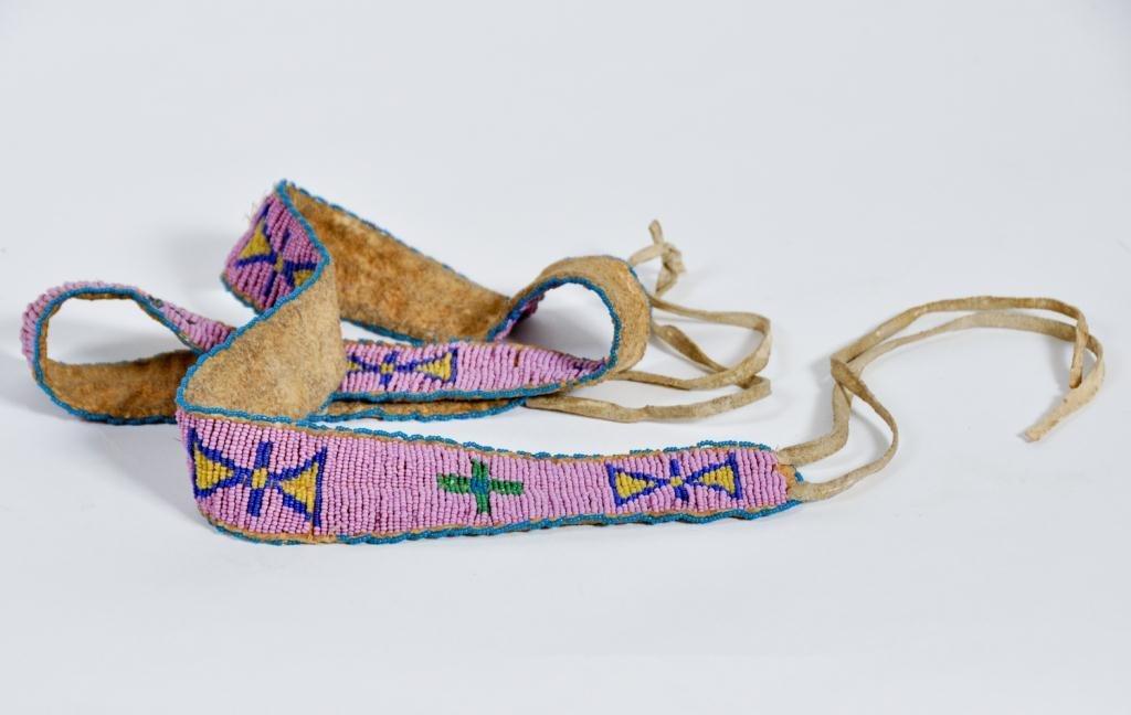 Native American Beaded Belt