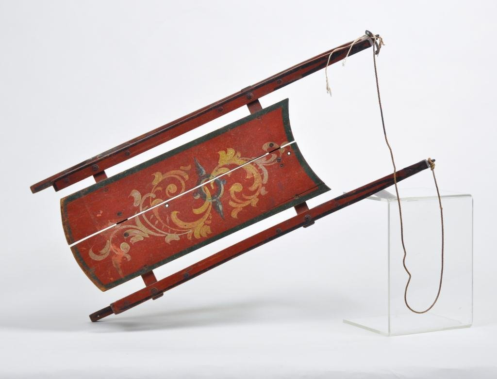 Victorian Child's Sled