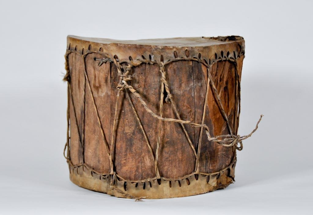 Early Drum Possibly Native American