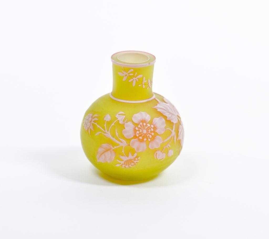 Miniature Cameo Vase