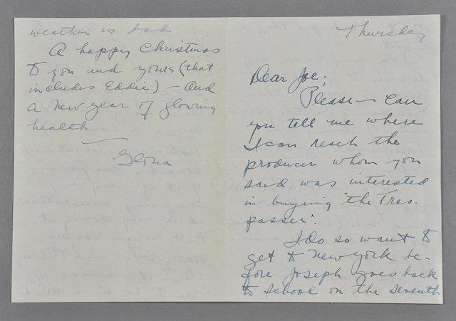 1: 1935-Joe P. Kennedy, Sr. / G. Swanson (Rare) - 2