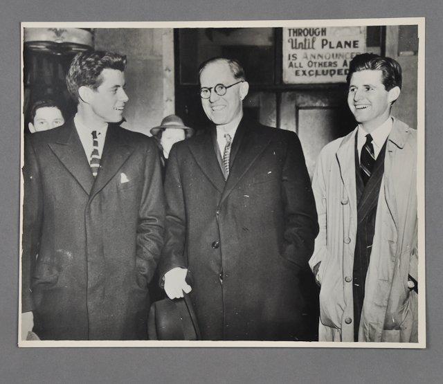 1: 1935-Joe P. Kennedy, Sr. / G. Swanson (Rare) - 7
