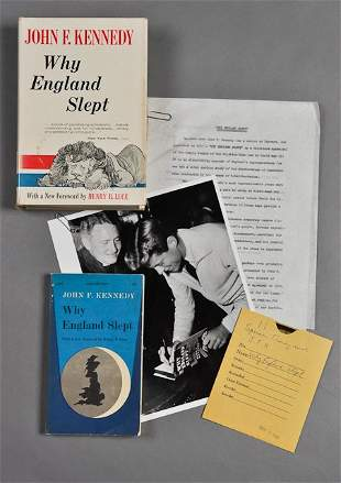 """1940-""""Why England Slept"""", Collection"""