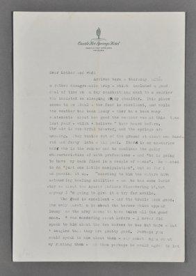 18: 1945-Jan, J. F. K., Signed Letter (Rare)