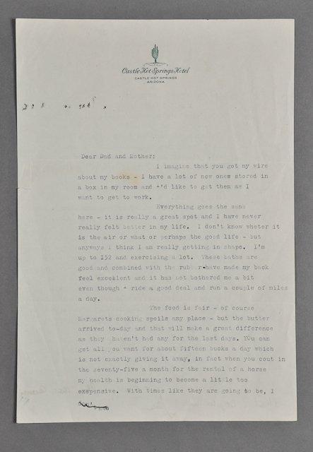 19: 1945-Feb, John F. Kennedy, Signed Letter