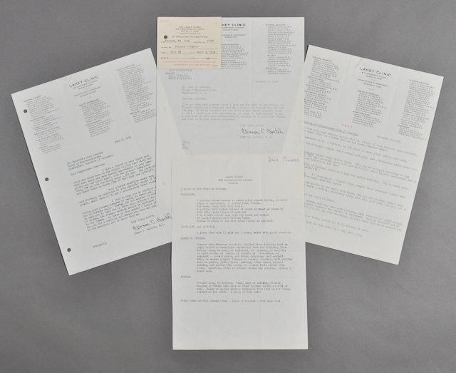 38: 1948-1951-Letters Regarding J.F.K.'s Health