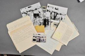 1951-J.F.K. Signed Pamphlet, U.S. Defense