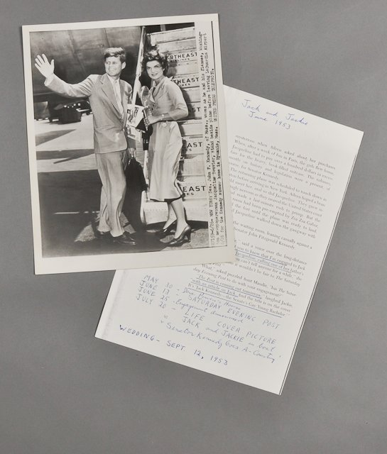 59: 1953-June, United Press Photo with Notes