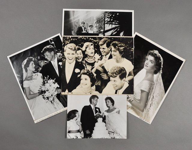 61: 1953-Sept 12, J.F.K. Wedding Day Photographs