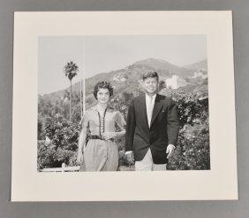 1953-Oct, J.F.K. And Jackie, Honeymoon