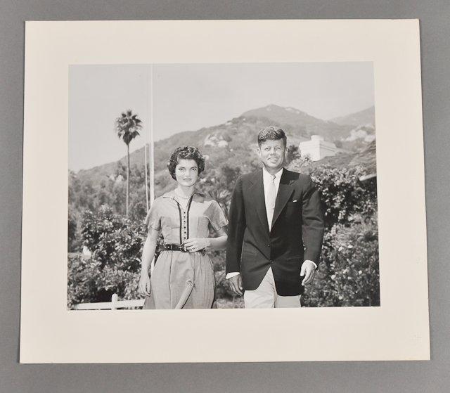 64: 1953-Oct, J.F.K. and Jackie, Honeymoon