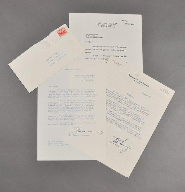 65: 1954-Leg. Record, J.P.K., Sr. Signed (Rare)