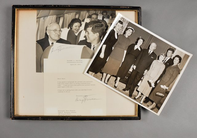 66: 1954-Harry S. Truman, (2) Signed Documents