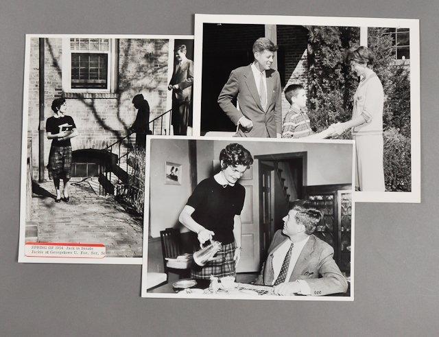 67: 1954-Jackie Kennedy at Georgetown
