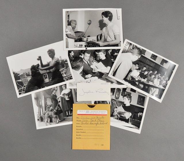 68: 1954-Jackie Kennedy at Georgetown