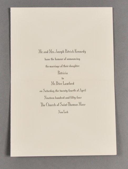 70: 1954-Apr, Kennedy/Lawford Announcement