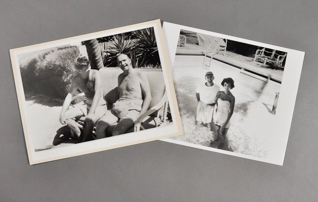 76: 1955-Mar, Sen. J.F.K., Palm Beach Photos