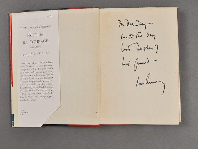 "81: 1955-J.F.K., Signed, ""Profiles in Courage"""