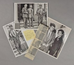 1955-J.F.K., London Crutches W/ Gen. Anders
