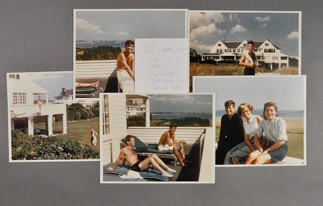 90: 1956-Kennedy Family Photographs at Hyannis
