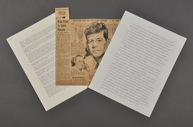 99: 1957-Jan, J.F.K.-Decides to Run for President
