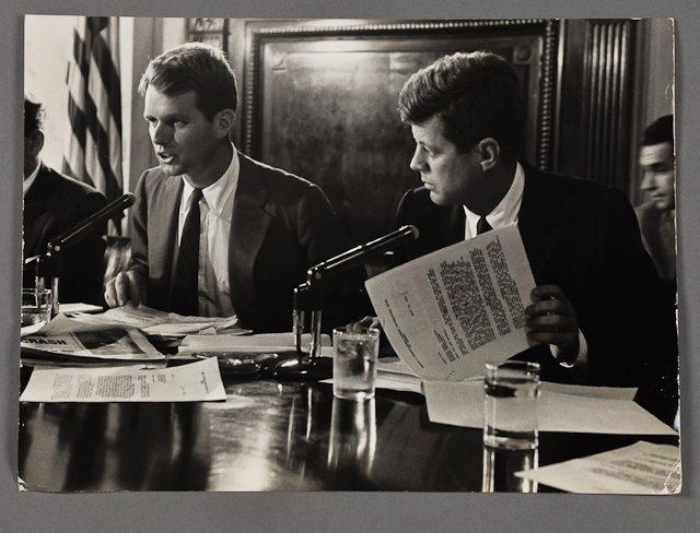 101: 1957-Feb, J.F.K. Saturday Evening Post Photo