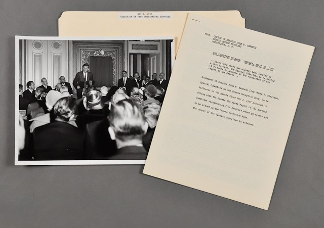 103: 1957-April, J.F.K. Special Committee Report