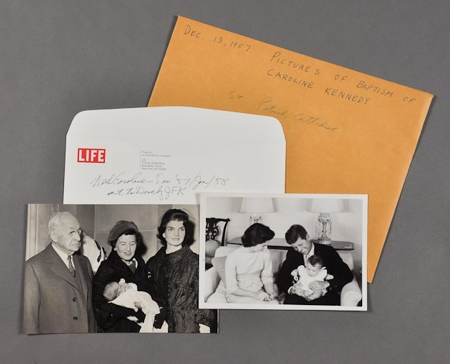 106: 1957-Dec, Baptism of Caroline Kennedy