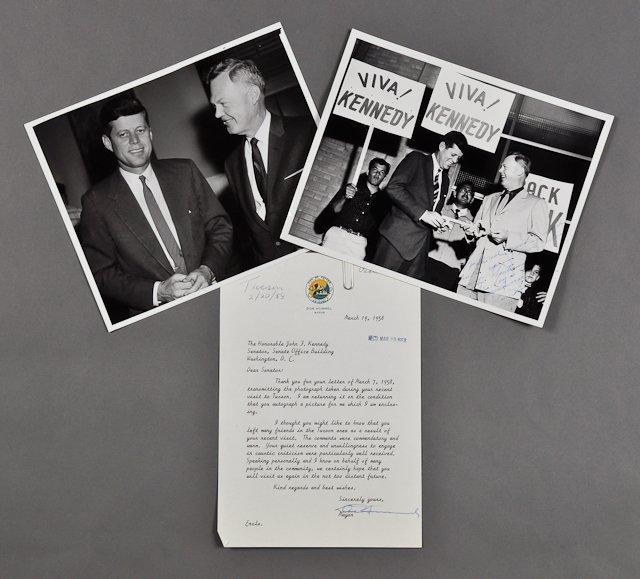 111: 1958-Feb, J.F.K., Visit to Tuscon, Arizona