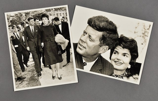 113: 1958-Sept, J.F.K. and Jackie Campaign in Ohio