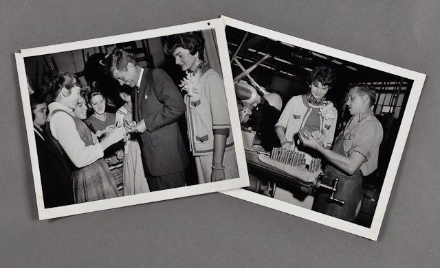 117: 1958-Nov, J.F.K. and Jackie Campaign MA