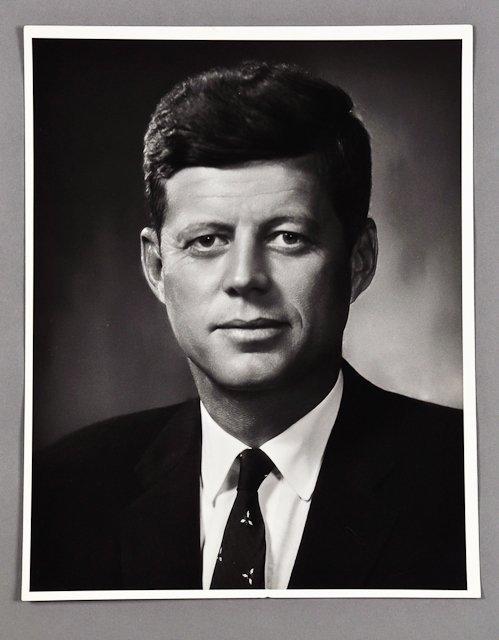 119: 1958-Formal Portrait of Senator J.F.K.