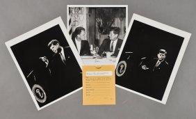 1962-Mar 1, J.F.K., With Billy Graham
