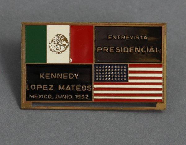 312: 1962-June 29, J.F.K., Mexico Trip, Rare Zippo - 3