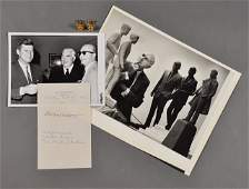 333: 1962-Sept 25, J.F.K., Australian P.M., Signed