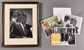 392: 1963-April, Robert F. Kennedy, Signed Photo
