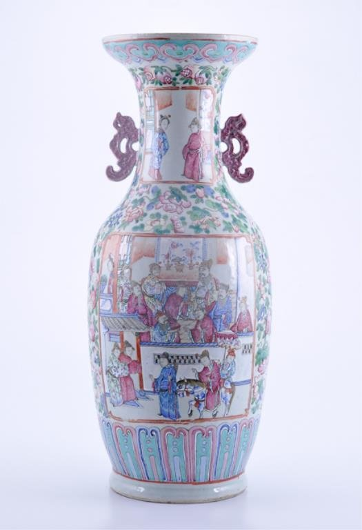 Chinese famille vase