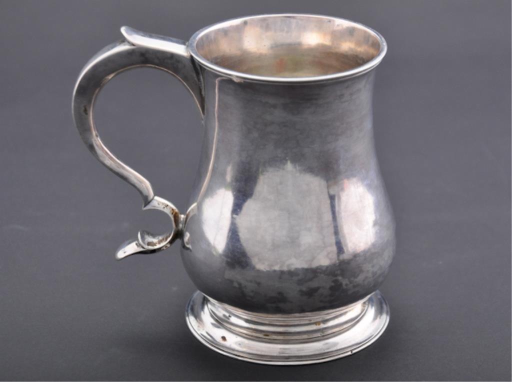 Philip Syng, Jr. (1703-1789) Silver Cann