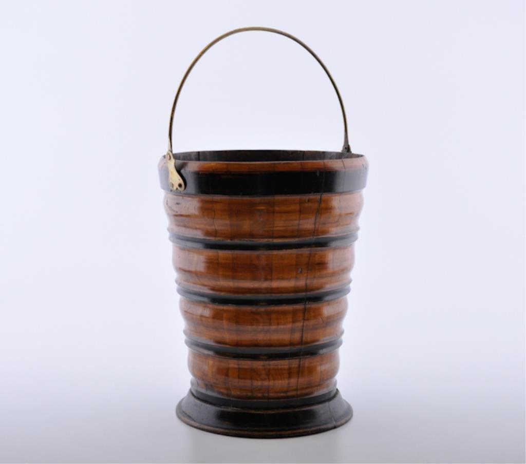 (19th c.) Wooden Bucket