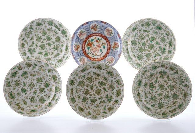 (19th c.) Export Porcelain Plates
