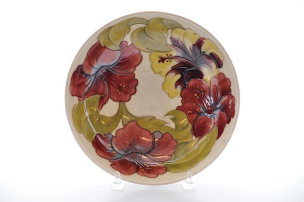 Moorcroft Hibiscus Bowl