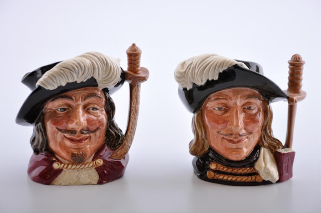 2 Royal Doulton Toby Mugs
