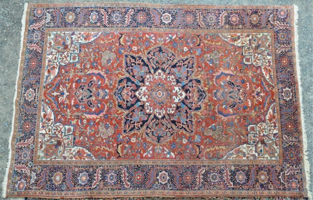 Antique Persian Roomsize Oriental Carpet