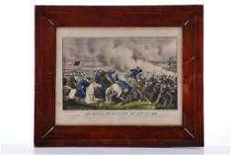 Battle of Antietam by Currier and Ives