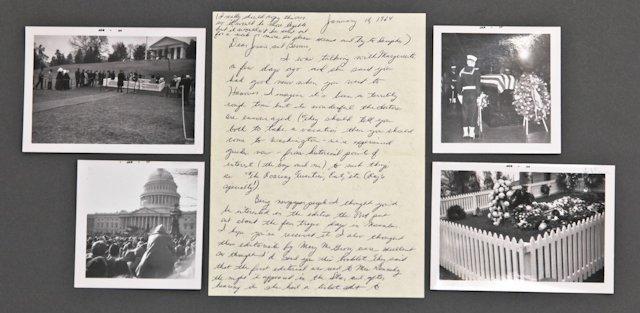 Original John F. Kennedy Funerary Snap Shots