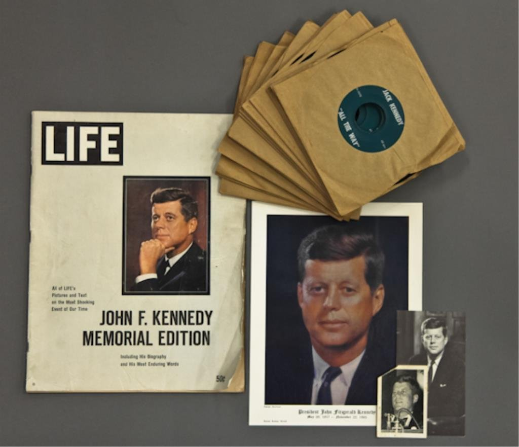 Sinatra Sings Kennedy's High Hopes 45's