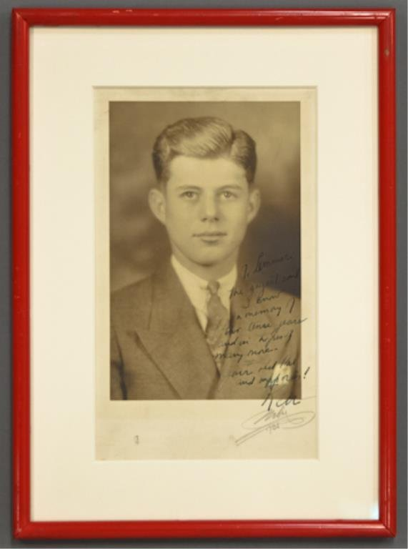 Portrait of John F. Kennedy at 18