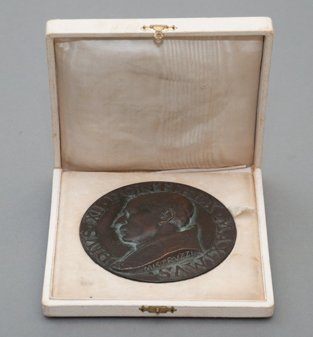 Kennedy Pope Pius XII Table Medal