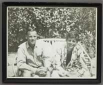 Lem Billings and John F Kennedy